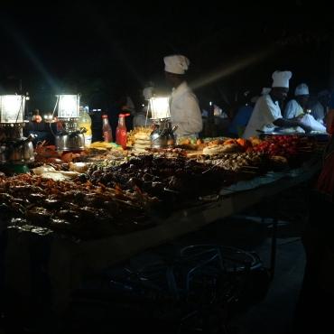 Ruokamarkkinat Sansibarilla