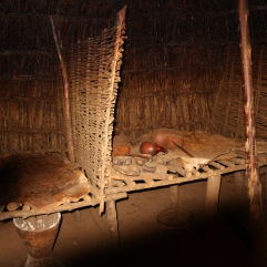 Chagga-heimon koti sisältä
